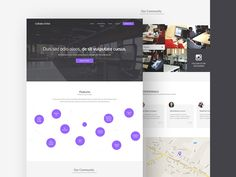 Collabo-Orbit is a modern and elegant template based on a co-working web concept. The layers in this freebie are well organized, beside vector shapes there are also some smart objects. If you want to build a website for a product or service this template should be a good choice. Awesome work done by Henry Reyes.