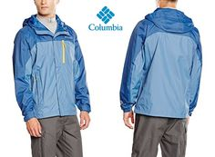 ¡Chollo! Chubasquero Columbia Pouring Adventure Jacket por 35.95 euros.