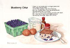 Bygone Living: Brenda Erickson's Recipe Paintings