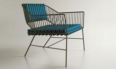 "Paulo Neves, Alexandre Kumagai - ""untitled"", outdoor chair"
