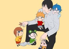 This is the cutest thing ever, omg. Toudou, tho, omg, aaaaaahhhhhhhh my heart.