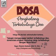Doa Islam, Allah Islam, Islamic Inspirational Quotes, Islamic Quotes, Self Quotes, Life Quotes, Islamic Phrases, Biya, Islamic Teachings