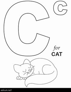 Kids Under 7: Letter A Worksheets and Coloring Pages