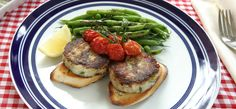 It's a burger, but it's a healthy, fishy option. Great recipe to encourage kids to eat more fish. Tempting recipes for cod and white fish from Fish Is The Dish