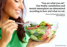Srila Prabhupada on Importance of Eating Proper Food
