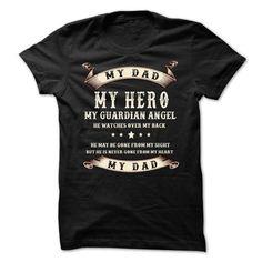 My dad,my hero T Shirts, Hoodies. Check price ==► https://www.sunfrog.com/Holidays/My-dad-46349473-Guys.html?41382