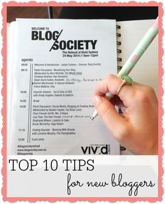 Top 10 Tips For New Bloggers (and many small business too!) - Farm & Pretty www.farmpretty.com