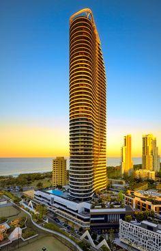 Amazing Snaps: Gold Coast, the most populour non-capital city in Australia Gold Coast Queensland, Gold Coast Australia, Western Australia, Australia Travel, Queensland Australia, Modern Architecture Design, Architecture Old, Futuristic Architecture, Beautiful Architecture