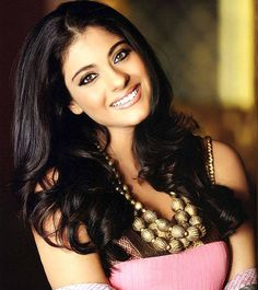Kajol, beautiful Bollywood actress.