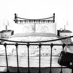 Why does bed look always look the most inviting when you can't get in