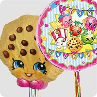 Shopkins are the hottest toys right now and quickly becoming the most popular party theme for girls. What is great about a Shopkins themed party is that there Birthday Box, Special Birthday, Birthday Celebration, Birthday Parties, Party Themes, Ideas Party, Shopkins, Birthday Decorations, Party Favors