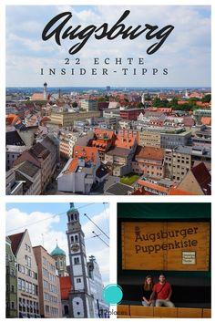 22 Tipps für Augsburg von zwei echten Insidern: Sara und Marco sind Reiseblogger und kommen aus Augsburg. Sie zeigen uns in der Serie Heimatliebe die schönsten Seiten ihrer Stadt!