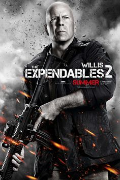 """""""The Expendables 2"""" : 12 affiches personnages !                                                                                                                                                                                 Plus"""
