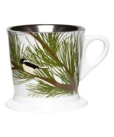 Gibson Chickadee Porcelain Holiday Coffee Mug, Green/White John Gibson, Porcelain Mugs, Christmas Mugs, Book Gifts, Coffee Mugs, Tableware, Holiday, Desktop, Pretty