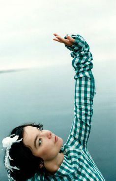 Björk // Photo by Frank Bauer // 1998
