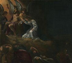 La Oración en el Huerto [Hacia 1590] // CARRACCI, LUDOVICO The Prayer in Gethsemane