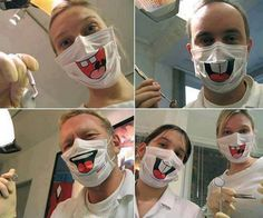 Funny Surgical Masks For Dentists And More