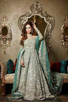 Latest Beautiful Walima Bridal Dresses Collection for Weddings Asian Bridal Dresses, Asian Wedding Dress, Pakistani Wedding Outfits, Pakistani Bridal Dresses, Pakistani Wedding Dresses, Bridal Outfits, Indian Outfits, Bridal Lehenga, Walima Dress