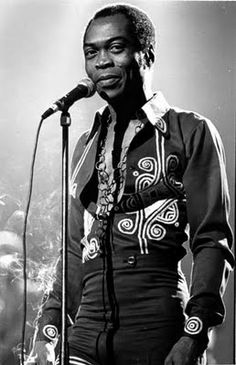 Fela Anikulapo Kuti (15 October 1938 - 2 August 1997), or simply Fela ([feˈlæ]) was a Nigerian multi-instrumentalist musician and composer, pioneer of Afrobeat music, human rights activist, and political maverick