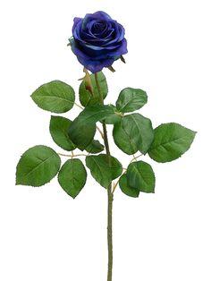 Silk Confetti Rose in Blue GTR456-BL.JPG