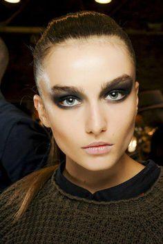 Donna Karan AW13/14 Makeup by Charlotte Tilbury+*