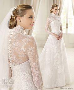 Manuel Mota 2013 Pre-Collection — + Pronovias 2013 Glamour Bridal Collection | Wedding Inspirasi