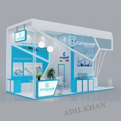 3d stall Design by Adil Khan at Coroflot.com