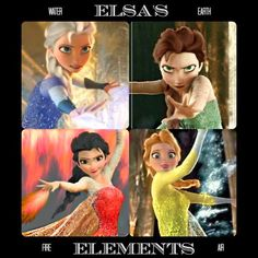 elsa frozen with different powers | Posted by Cupcake CheeseToppingAJ at 3:47 AM