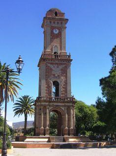 Torreón de #Tecozautla, majestuosa edificación que podrás observar en la plaza principal de este bello municipio #Hgo