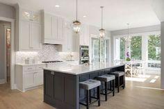 64 adorable white kitchen design ideas 1 ~ Design And Decoration Home Decor Kitchen, Interior Design Kitchen, Home Kitchens, Layout Design, Design Ideas, Beautiful Kitchens, Kitchen Remodel, House Design, Decoration