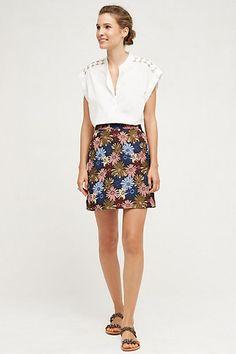 Kai Mini Skirt #anthropologie