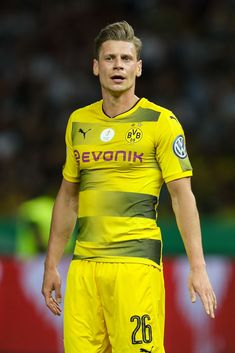 BERLIN, GERMANY - MAY Lukasz Piszczek of Dortmund looks on during the DFB Cup final match between Eintracht Frankfurt and Borussia Dortmund at Olympiastadion on May 2017 in Berlin, Germany. (Photo by TF-Images/Getty Images) Berlin Germany, Football Players, My Boys, Pickles, That Look, Soccer, Smile, Game, Sports