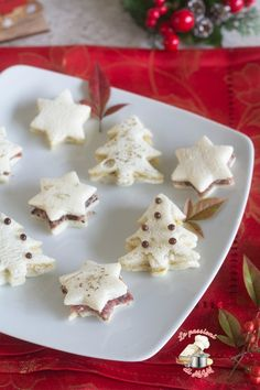 Christmas Dishes, Christmas Time, Kids Meals, Easy Meals, Antipasto, Star Cookies, Xmas Dinner, Party Finger Foods, Xmas Food