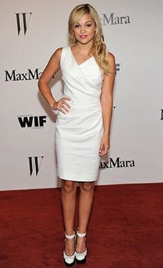 Dis411 Olivia Holt Gorgeous At The Max Mara And W Magazine Women In Film Event June 11, 2013