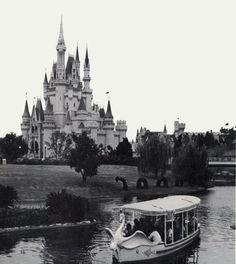 imagineeringdisney:  Another FANTASTIC early WDW photo. #swanboats