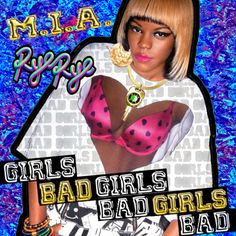 After appearing on the official remix release of M.I.A.'s 'Bad Girls' together with Missy Elliott and Azealia Banks, Rye Rye now takes matter into her own hands and here unleashes her own take of the song in form of her own b-more remix. This version is produced by DJ Say Wut. Listen below: