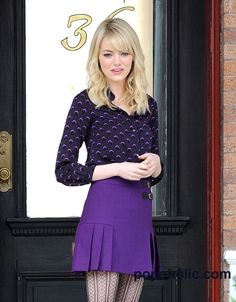 Emma Stone Is Back To Work As Gwen Stacy, And Looking Hotter Than Ever