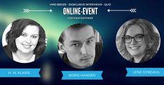 Kom til Online-Event med 3 højaktuelle fantasyforfattere og vind fede bogpræmier…