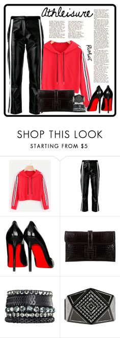 """""""Athleisure"""" by krista-zou on Polyvore featuring 8PM, Hermès, Avon, Chanel, contest, romwe, polyvorefashion and polyvorecontests"""