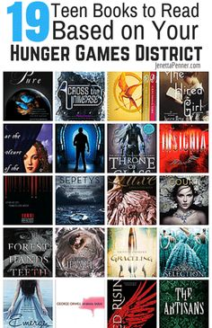 Love the Hunger Games? Check out these 19 Teen Books to Read Based on Your Hunger Games District