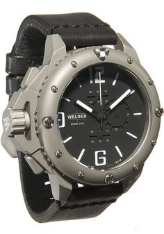 Welder Watch 2702 D 2702 Watch available to buy online from with free UK delivery. Army Watches, Rolex Watches For Men, Best Watches For Men, Luxury Watches, Cool Watches, Wrist Watches, Watch Engraving, Affordable Watches, Watch Brands