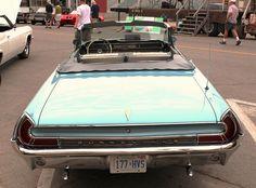 1962 Pontiac Bonneville convertible