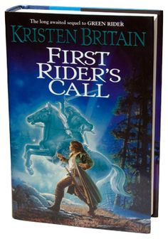 Green Rider  by Kristen Britain...book 2 of currently 4 of the series