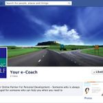 "Your e-Coach is on Facebook! Please ""like"" our page and find out what Your e-Coach can help you solve!"