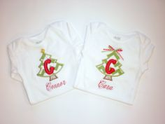 Personalized Tee or Onesie by SweatPeaStitches on Etsy, $20.00