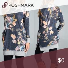🎉Arriving 11-7 🎉 Florals are HUGE this year and this top is a winner. Arriving November 7th 👏 Tops Tunics