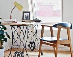 mesa de máquina de costura