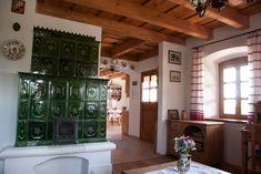 cserépkályha Design Case, Cottage Homes, House Tours, Countryside, My House, Palace, Inspiration, Paradise, Kitchen