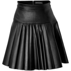 David Koma Pleated Leather Mini-skirt In Black Leather Kilt, Black Leather, Hip Hop Fashion, Cute Fashion, David Koma, Leather Mini Skirts, Stage Outfits, Clothes, Women