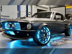 What if Microsoft made a Ford Mustang? West Coast Customs and Microsoft created Project Detroit to inspire developers to build apps for cars. This ride includes technology from Microsoft's Kinect, Xbox, Windows, and Windows Phone, among others.